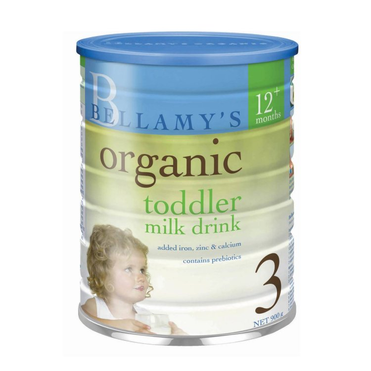 Bellamy's Organic Toddler Drink 900g