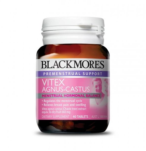 Blackmores Vitex Angus Castus 40 Tablets