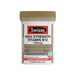 Swisse Ultiboost High Strength Vitamin B12 60 Tablets