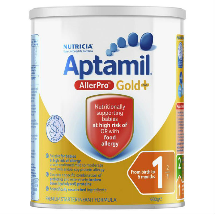 Aptamil Gold+ 1 AllerPro Infant Formula From Birth 0-6 Months 900g –