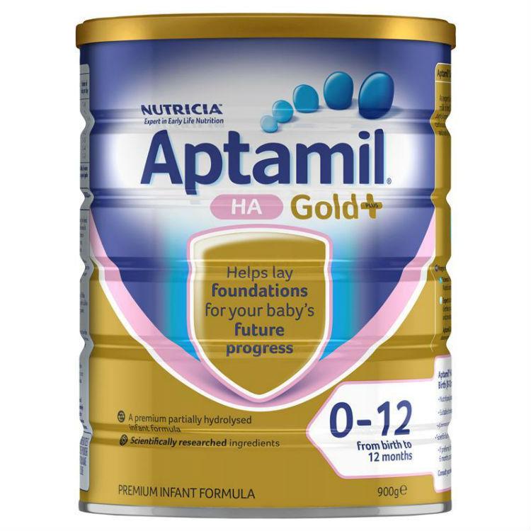 Aptamil Gold+ HA Infant Formula From Birth 0-12 Months 900g