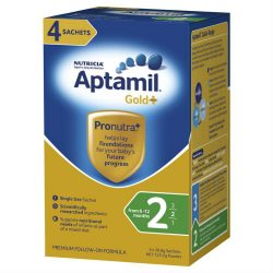 Aptamil Gold Pronutra Follow On Sachet 4x30g –