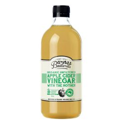 Barnes Naturals Organic Apple Cider Vinegar with the Mother 1000ml