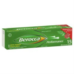 Berocca Energy Vitamin Original Berry Effervescent Tablets 15 pack –