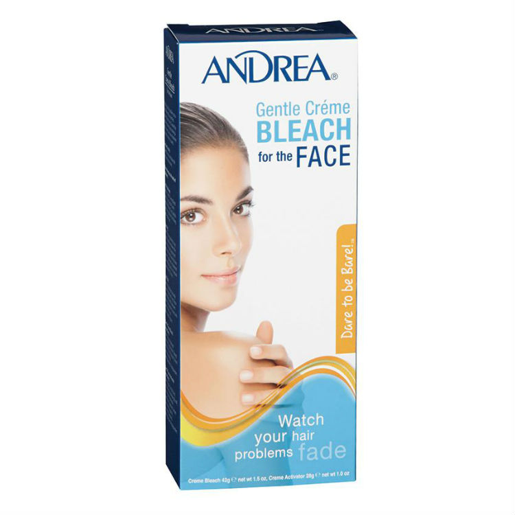 Andrea Gentle Cream Bleach for the Face 42g + 28g