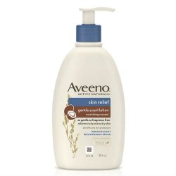 Aveeno Skin Relief Gentle Scent Body Lotion Nourishing Coconut 354ml