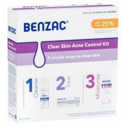 Benzac Clear Skin Acne Control Kit