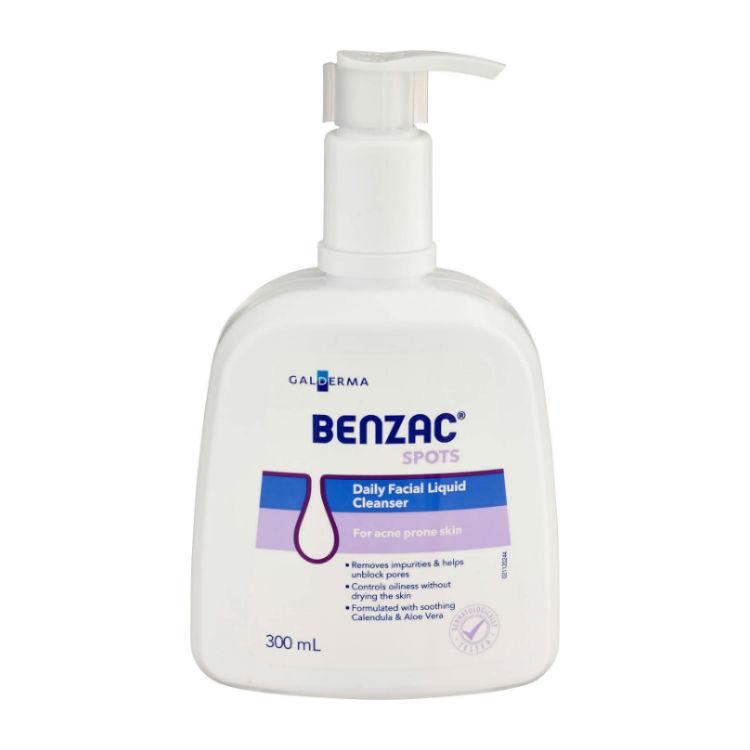 Benzac Daily Facial Liquid Cleanser 300ml