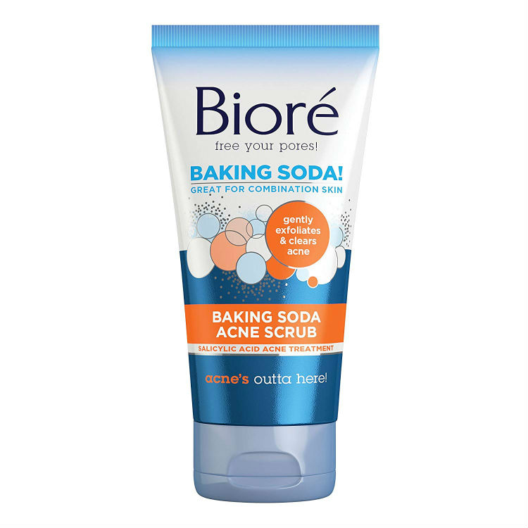 Biore Baking Soda Acne Scrub 127g