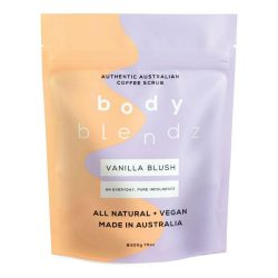 Body Blendz Body Coffee Scrub Vanilla Blush 200g –