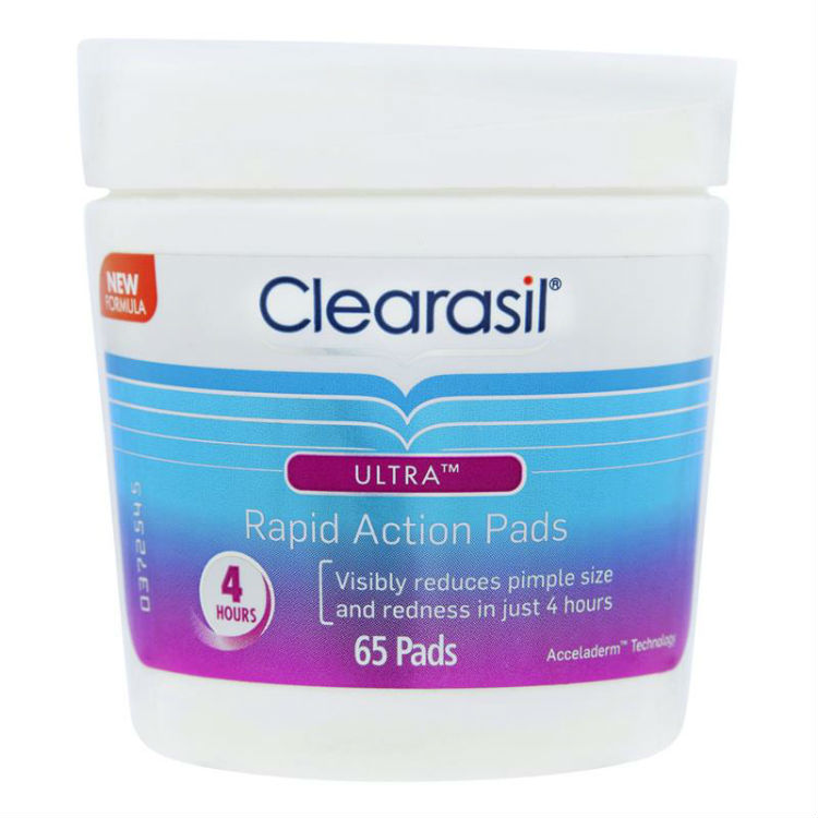 Clearasil Ultra Rapid Action Face Wipe Pads 65 –