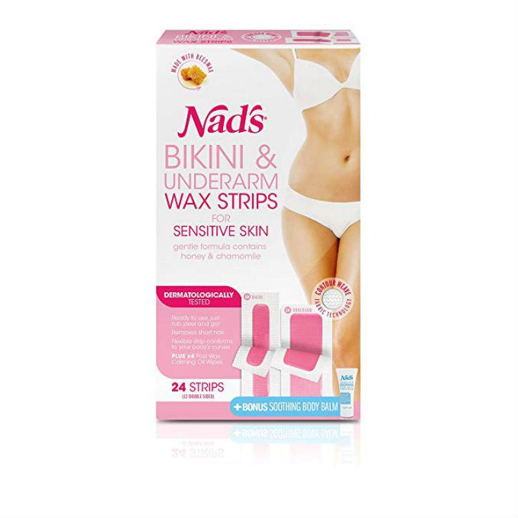 Nad's Bikini and Underarm 24pk