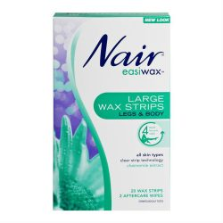 Nair Easiwax Wax Strips 20 Large