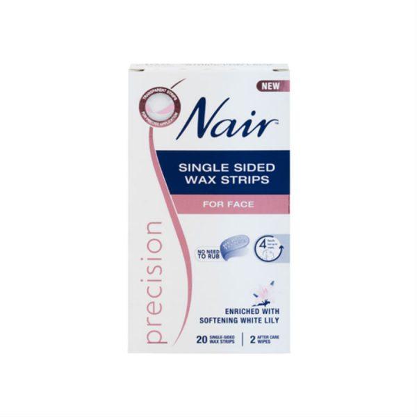 Nair Precision Ready Wax Strips 20