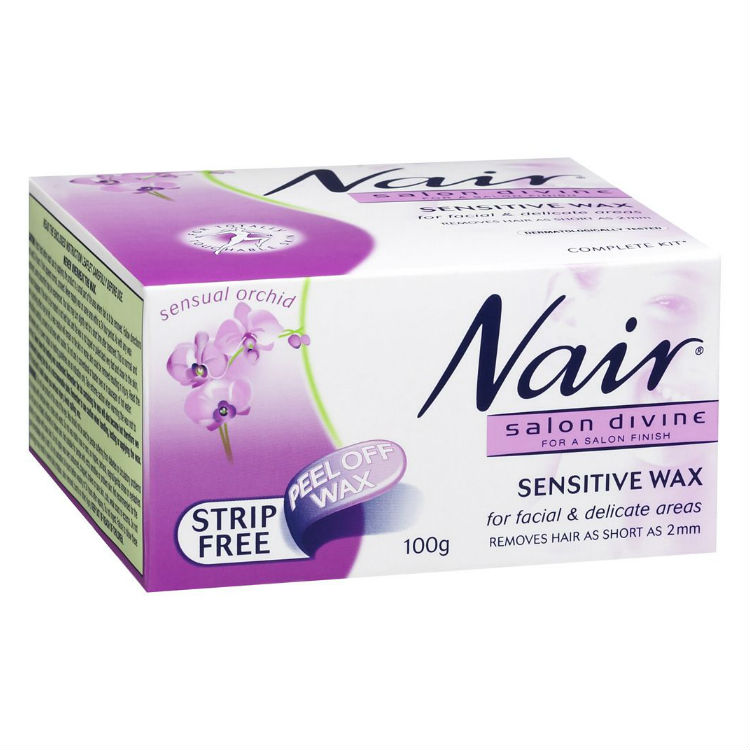 Nair Salon Divine Sensitive Wax for Delicate Areas 100g
