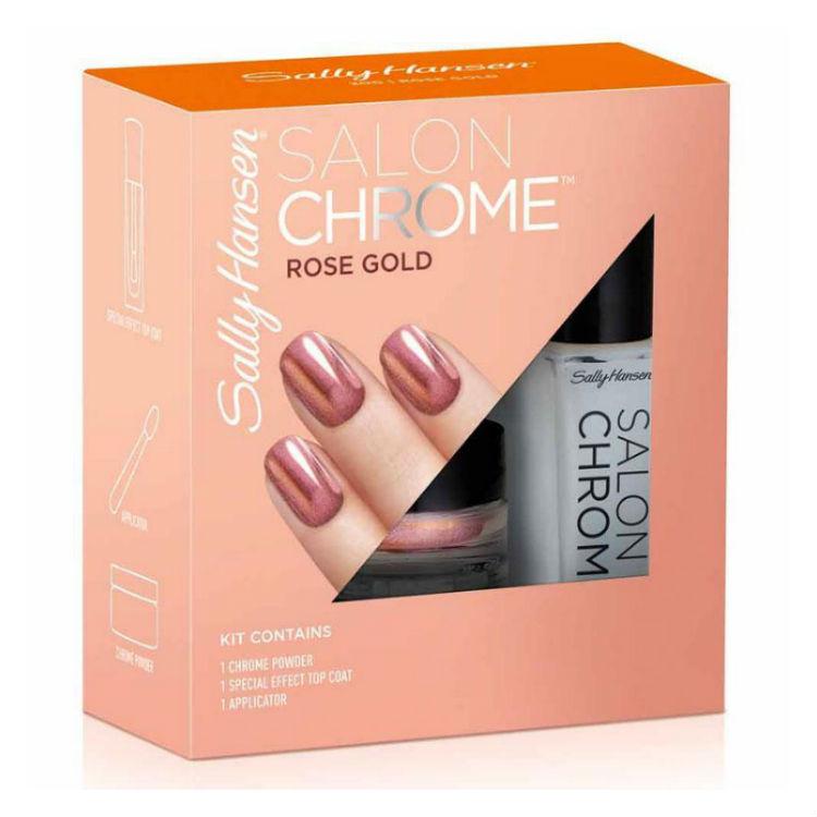 Sally Hansen Rose Gold Chrome Kit