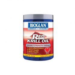 Bioglan Red Krill Oil 加强型红色磷虾油1000mg 60粒 – Fujian Health & Beauty