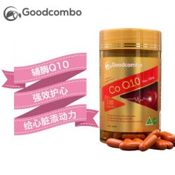 Goodcombo 辅酶Q10 Max 强效护心丸 120粒 – Jilin Healthy 保健,美妆和个人护理商品