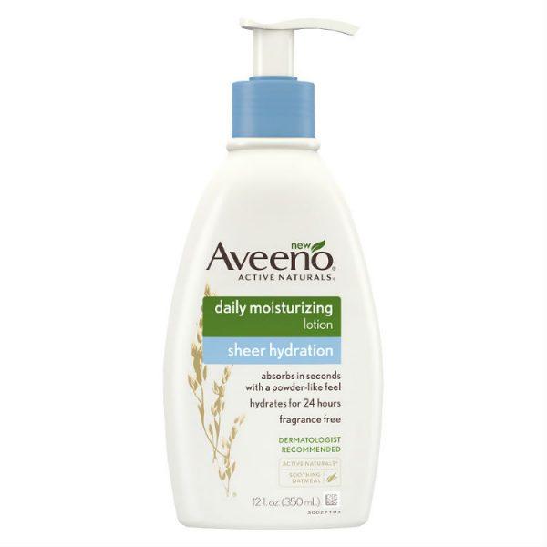 Aveeno Daily Moisturising Lotion Sheer Hydration 350ml – Health and Beauty Deals
