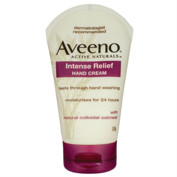 Aveeno Intense Relief Hand Cream 100g – World Health and Beauty Deals
