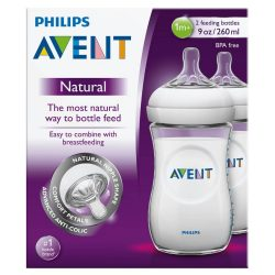 Avent Natural 260ml Feeding bottle 2pk – Health and Beauty Deals