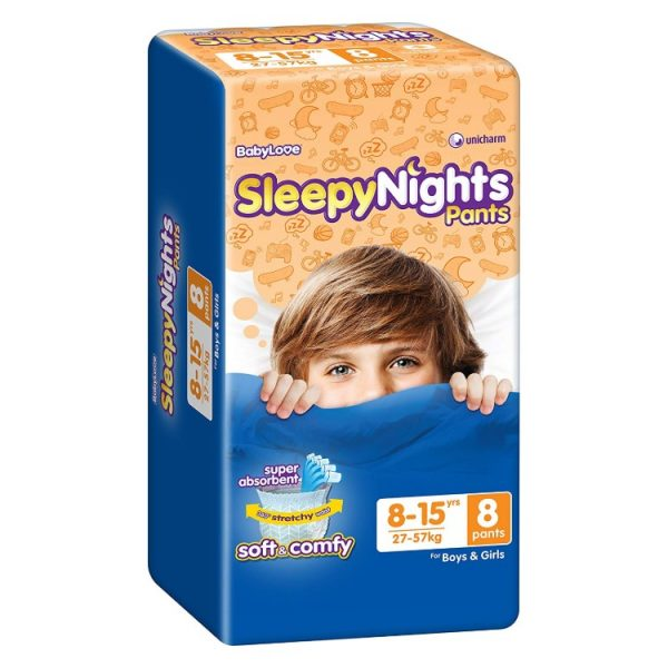BabyLove Sleepy Nights 8-15 Years 8 Pack – Health and Beauty Deals