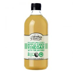 Barnes Naturals Organic Apple Cider Vinegar with the Mother 1000ml – Jonathan Health and B ...