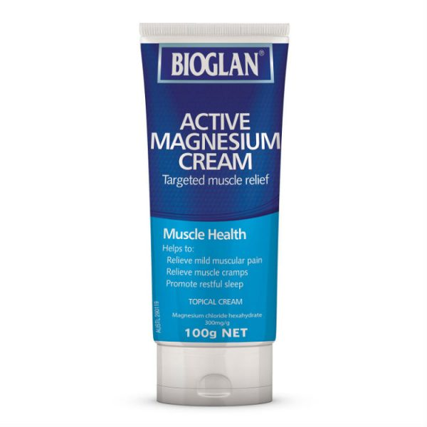 Bioglan Active Magnesium Cream 100g – World Health and Beauty Deals
