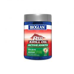 Bioglan红色磷虾油活性关节60粒 – Aodaliya 保健,美妆和个人护理商品
