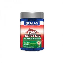 Bioglan红色磷虾油活性关节60粒 – Liaoning 保健,美妆和个人护理商品