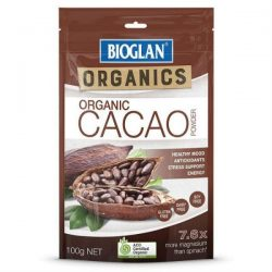 Bioglan Organic Cacao Powder 100g – Jonathan Health and Beauty Deals
