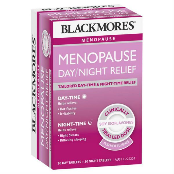 Blackmores Menopause Day and Night Relief 60 Tablets – World Health and Beauty Deals