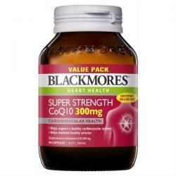 Blackmores Super Strength CoQ10 300mg 90 Tablets Exclusive Size – Health and Beauty Deals