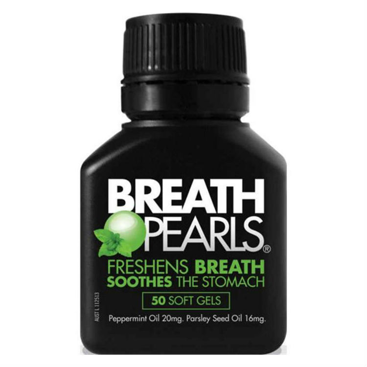 Breath Pearls Natural Capsules 50 – Health and Beauty Deals