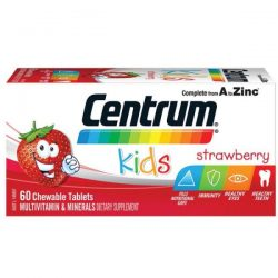 Centrum Kids Multi Vitamin 60 Strawberry Tablets – Vitamin Australia