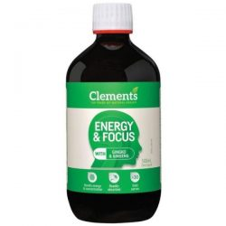 Clements Energy and Focus Liquid 500ml – World Health and Beauty Deals