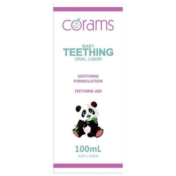 Corams Teething Liquid 100mL – Jonathan Health and Beauty Deals