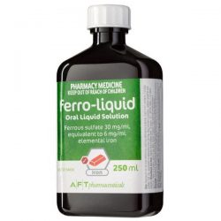 Ferro Liquid 250ml 30mg/ml – World Health and Beauty Deals