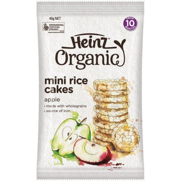 Heinz Organic Rice Cakes 40g – Jonathan Health and Beauty Deals