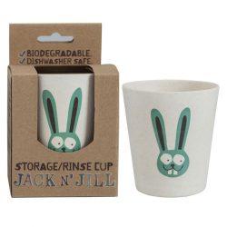 Jack N'Jill 杰克儿童刷牙漱口杯 有机环保安全 兔子款 – Chongqing 保健,美妆和个人护理商品