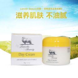 Lanolin beauty 日霜 100g 含蜂皇浆精华 – Qiufang Health & Beauty