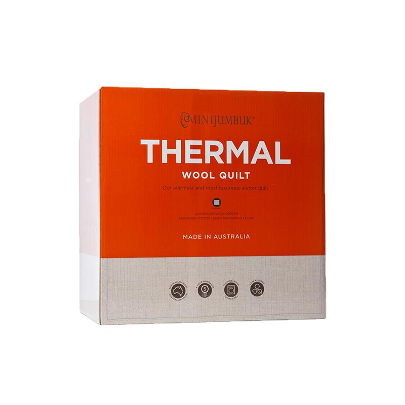 澳洲直邮 Minijumbuk Thermal 超厚羊毛被 双人180cm x210cm – Jacquie Health & Beauty