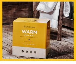 澳洲直邮 Minijumbuk Warm 厚款羊毛被 单人140cm x210cm – Mike 保健,美妆和个人护理商品