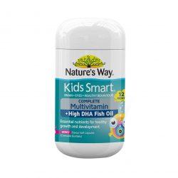 Nature's Way 佳思敏 儿童软糖DHA+维生素鱼油50粒 儿童补脑记忆力 – Mike 保健,美妆和个人护理商品