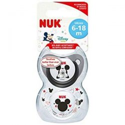Nuk Mickey Mouse Silicone Soother 6-18 Months 2 Pack – Vitamin Australia