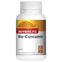 Nutra-Life Bio-Curcumin 60 Capsules – World Health and Beauty Deals