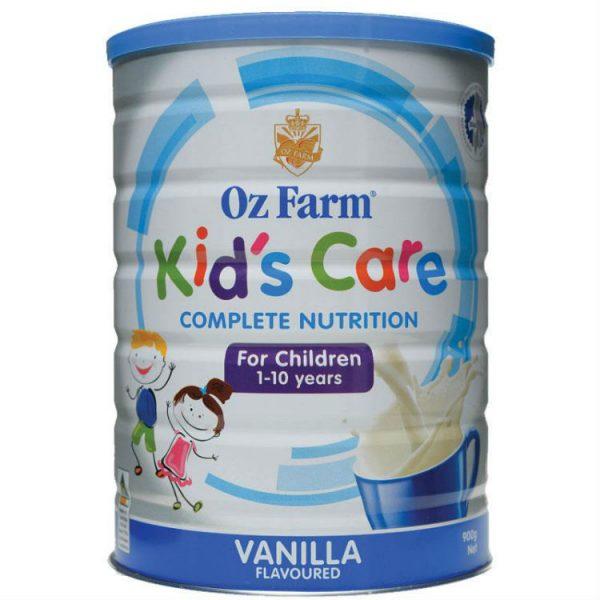 OZ Farm Kids Care Vanilla 900g – Vitamin Australia