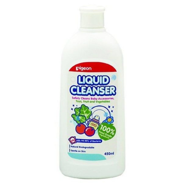 Pigeon Bottle Liquid Cleanser 450ml – World Health and Beauty Deals