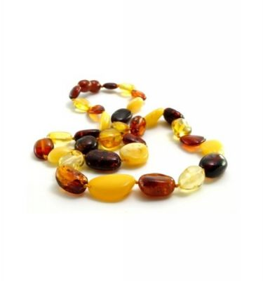Slobber beads 成人琥珀项链honey round色 44-45cm – Zhongguo 保健,美妆和个人护理商品