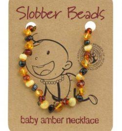 Slobber beads 成人琥珀项链multi oval色 44-45cm – Shanxi 保健,美妆和个人护理商品